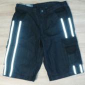 Джинсовые шорты бриджи 54 размер Livergy c светоотражателями