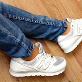 Кроссовки New Balance. Натуральная кожа