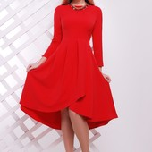 Платье клеш 4 цвета р-ры 42-46