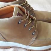 Кожаные ботинки Timberland оригинал р.42-27см.