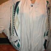 Курточка летняя,шёлковая,р.50-52.