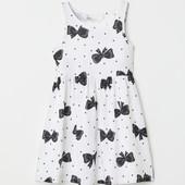 Платье H&M 4-6 и 8-10 лет