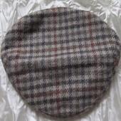 Кепка Шапка Твидовая Exclusive Tweedmill маленький объем 52,5 см
