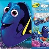 Набор Crayola finding Dory art kit. В поисках Дори. - oригинал.