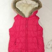 Теплая жилетка на 3-4 годика Miniclub