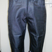 Стильные мужские темно-серые бриджи р 31