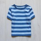 Стильная футболка для мальчика. TU. Размер 6-9 месяцев. Состояние: идеальное