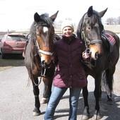 Оздоровительная верховая езда, занятие с детьми, иппотерапия