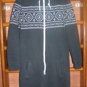 Пижама хлопковая, с начесом, мужская, размер М, рост до 172 см
