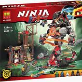 Конструктор Bela Ninja 10583 Железные удары судьбы, бела ниндзяго