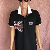 Стильная футболка поло Emporio Armani EA7