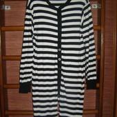 Пижама хлопковая, мужская, размер L, рост до 175 см