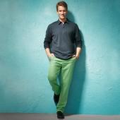 мужские брюки чино от тсм tchibo. Ткань твил.