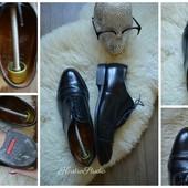 Стильные кожаные туфли-оксфорды р-р 45 Made in England