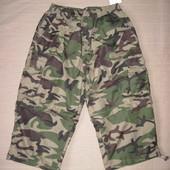 Новые Just3 Sports wear (L) камуфляжные шорты карго трансформеры мужские