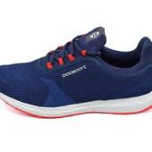 Мужские кроссовки Baasport Style 635 синие (реплика)