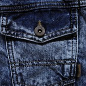 Мужской пиджак жакет желет джинсовый Asos L