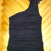 Шикарная блуза с цветком от jennyfer! p.-m