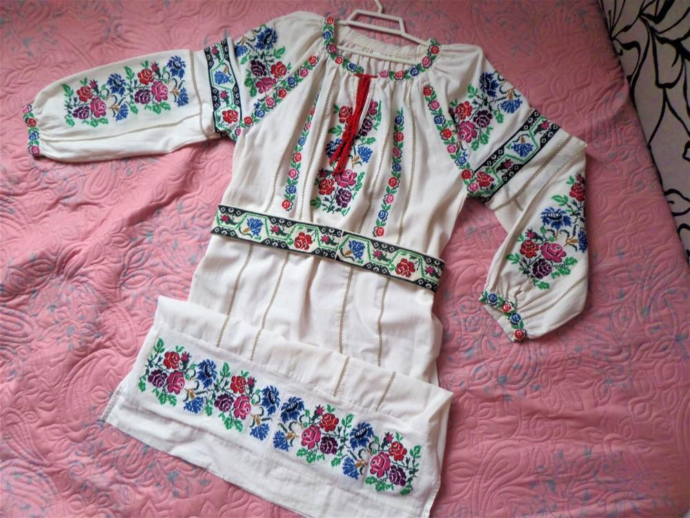 Распродажа шикарное вышитое платье фото №1