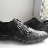 раз.46.Кожаные туфли,полуботинки Roberto Santi