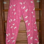 Штаны флисовые,пижамные, женские, размер ХL