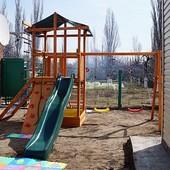 деревяний ігровий комплекс babyland 3