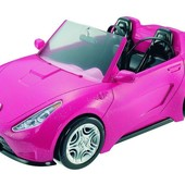 Barbie Машина для куклы Барби розовый гламур glam convertible doll vehicle
