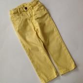 желтые скинни с карманами-сердечками р.92