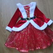Новогоднее платье TU ( 3-4  года)
