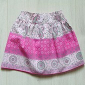Стильная юбка для девочки. Adams Kids. Размер 9-12 месяцев