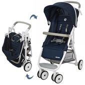 Детская коляска Motion M 3295-4, прогулочная, книжка, eva-колеса, синяя