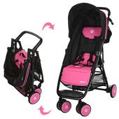 Детская коляска Motion M 3295-8, прогулочная, книжка, eva-колеса, розовая