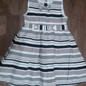 Шикарное льняное платье Mothercare на 7-8 лет. Состояние отличное.