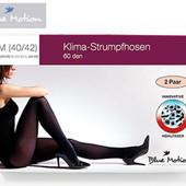 2 пары уплотненных  колготок  - 60 den Blue Motion Германия