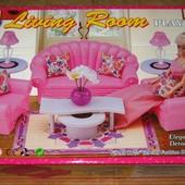 Кукольная мебель Глория Gloria 22004 Изысканная гостинная
