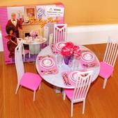 Кукольная мебель Глория Gloria 94011 Столовая