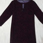 Платье-туника темно бордовое George(Турция), р.14