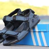 Босоножки мужские Adidas Blue 42р
