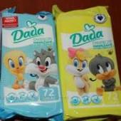 Детские влажные салфетки Дада Dada 72 шт. на опт