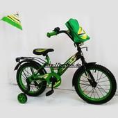 Двухколесный велосипед 14 Stels Pilot 100 зел, син, малин