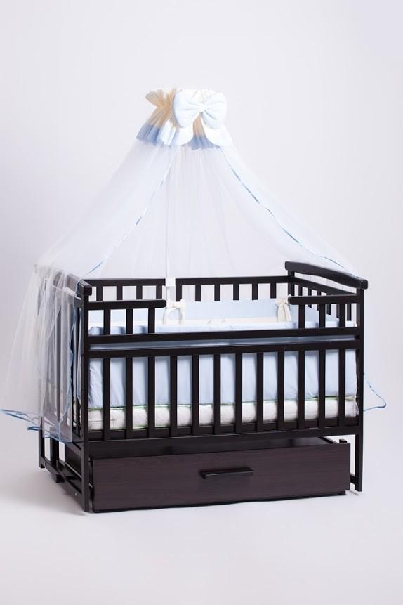 Детская кроватка трансформер с шкафчиком фото №1