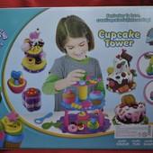 Башня кексов cupcake tower аналог  play doh