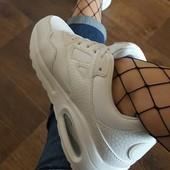 Хит продаж! Белые кроссовки в стиле Nike Air Max в наличии