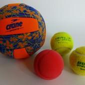 Мяч мячи тениссный, для воды и мягкий