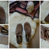 Новые крутые замшевые туфли Англия р-р 42-43