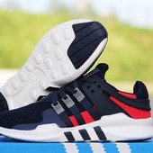 Кроссовки   Adidas Equipment Running Support 93  т.сині з білим