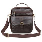 """Мужская сумка портфель """"Сhief """" из натуральной кожи"""