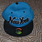 новая бейсболка кепка New york оригинал Snap Bol размер универсальный
