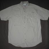 Columbia PFG (L) рыбацкая треккинговая рубашка мужская
