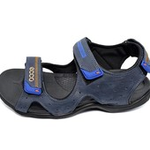 Сандалии мужские Ecco E3T синие (реплика)